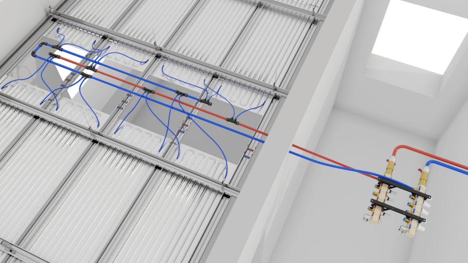 3d vizualizácia inštruktážna animácia