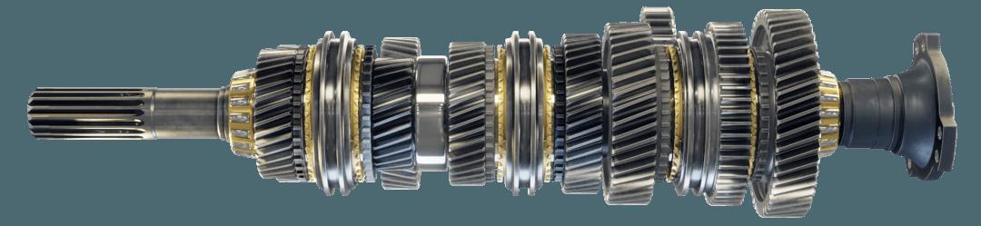 3d vizualizácia gearbox